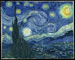 The Starry Night (Vincent  Van Gogh -1889)