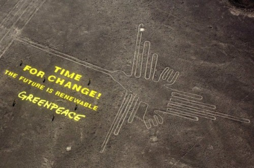 nazca lines greenpeace