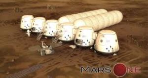Proposed Home on Mars