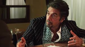 Al Pacino playing a drunk guy.  What a surprise.