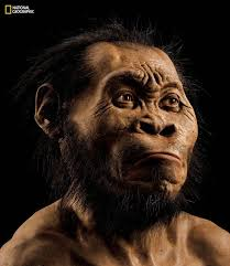 Homo Naledi (best guess -we've got fossilized bones, not photographs