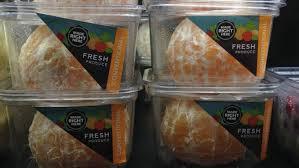 pre-peeled oranges